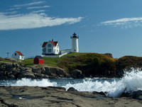 "Cape Neddick, ME, a.k.a ""Nubble Light"" 3"