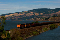 BNSF in the Columbia River Gorge 1