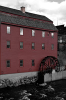 Old Grain Mill, Ammonoosuc River, Littleton NH 1