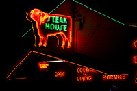 Rod's Steak House neon sign, Williams AZ 2