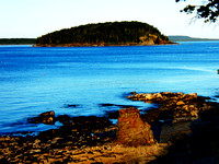 One of the Porcupine Islands, Bar Harbor ME