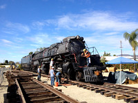 UP Big Boy 4014 at Fairplex 4