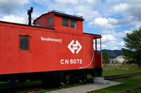 CN / TerraTransport Caboose 6072 - 2