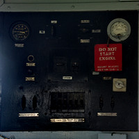 CN 931 cab -  electrical panel