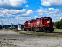 Canadian Pacific SD60s and the Minnedosa Ethanol Plant