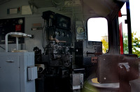CN 931 cab - Engineer's side